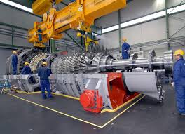 the sgt5 8000h gas turbine built by siemens electricity