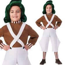 oompa loompa costume kids oompa loompa costume new s m l fancy dress licensed willy