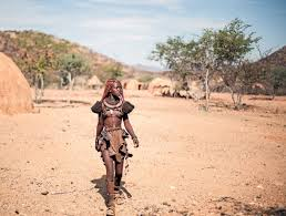 Color Of Earth by The Unique Himba People Of Namibia Africa