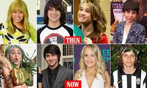 where the hannah montana cast is ten years after the show u0027s