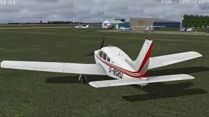 fsx just flight piper arrow first impressions youtube