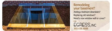 How To Cover Basement Windows by Egress Inc Serving Denver The Entire Colorado Front Range