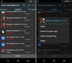 root uninstaller pro apk guide how to use root uninstaller dr fone