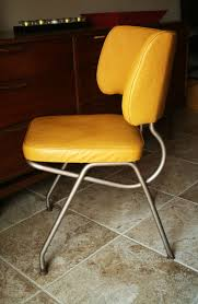 retro kitchen chairs yellow video and photos madlonsbigbear com