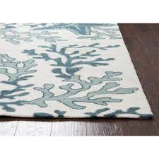 Coastal Outdoor Rugs Blue 7 X 9 Outdoor Rugs Rugs The Home Depot