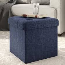 Cube Ottoman Cube Ottomans Poufs You Ll Wayfair