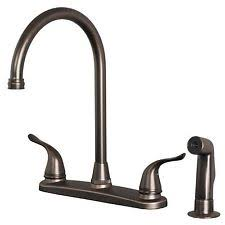kitchen faucet with side spray high arc kitchen faucet ebay