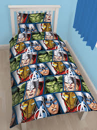 Marvel Double Duvet Cover Avengers Shield Single Duvet Cover And Pillowcase Kids Bedding
