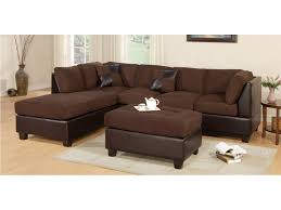 chocolate sectional sofa master furniture living room two tone chocolate sectional sofa 2325