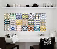 sticker pour carrelage cuisine stunning stickers salle de bain mosaique contemporary lalawgroup