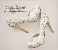 wedding shoes pictures heels