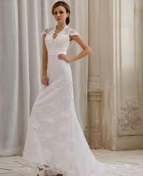 simple wedding dresses with cap sleeves naf dresses