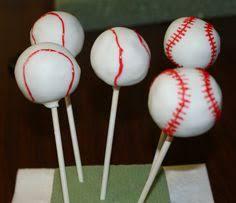 baseball cake pops birthday ideas pinterest baseball cake