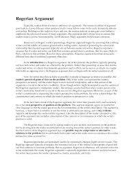 Example Persuasive Essay Outline How To Write A Rogerian Essay Assignment Editor How To Write A