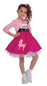 50s costume girls fancy dress rubies kids child