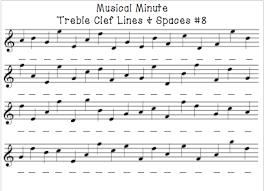 music note reading worksheets worksheets
