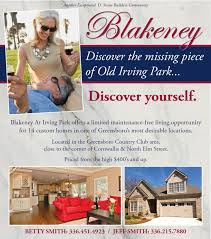 Luxury Homes In Greensboro Nc by Blakeney At Old Irving Park Homes For Sale In Greensboro