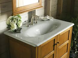 Kohler Bathroom Sinks And Vanities by Iron Impressions Cast Iron Sink With 8 Inch Centers K 3051 8