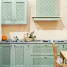 kitchen stencils designs moroccan stencils create moroccan pattern decor with stencil