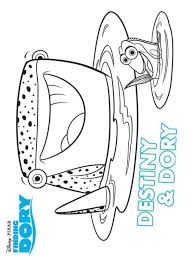 kids fun 16 coloring pages finding dory