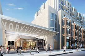 new shopping mall marks big changes for yorkville