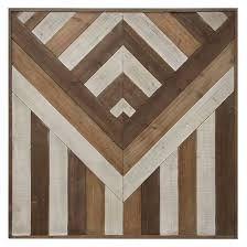 square pieced wood wall décor 39 x39 3r studios target