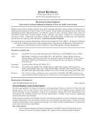 Electrical Engineer Sample Resume by Dsp Engineer Sample Resume Haadyaooverbayresort Com
