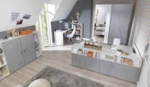 Schreibtisch Ums Eck Wellemöbel Gmbh Concrete Schreibtisch Weiß Mit Raumteiler Regal