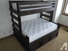 Full Over Queen Bunk Bed Full Over Queen Bunk Bed With Stairs - Queen bed with bunk over