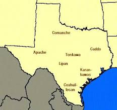 lipan map the indians of