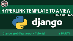 python django url linking of template to a view django basics