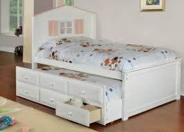 Twin Bed With Storage And Bookcase Headboard by Trundle Bed With Bookcase Headboard Hollywood Thing