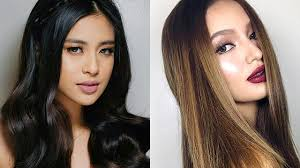 filipina artist with copper brown hair color the best hair colors for your skin tone cosmo ph