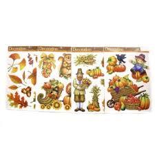 wholesale thanksgiving window clings sku 345033 dollardays