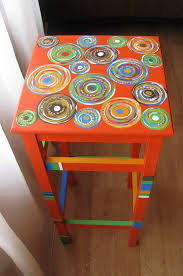 Different Ways To Paint A Table Best 25 Painted Side Tables Ideas On Pinterest Distressing