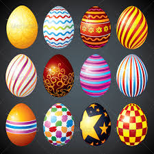 decorative easter eggs by pilart graphicriver