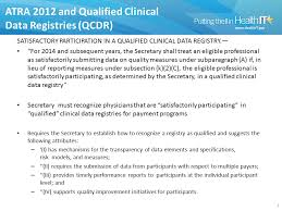 data registries qualified clinical data registries a data intermediary model may