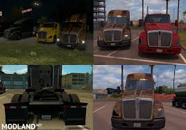 kenworth t680 parts list ats kenworth t680 black headlights toning mod for american truck