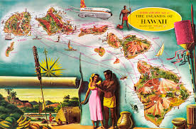 Airline Route Maps by Aloha Airlines Route Map