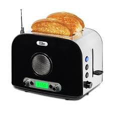 Cleveland Browns Toaster Elite Platinum 2 Slice Toaster With Radio 7636995 Hsn