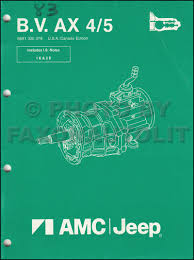 1985 jeep ordering guide original