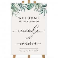 wedding welcome sign template wedding welcome signs professionally printed by