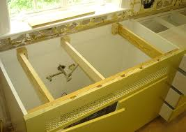 undermount sink concrete countertop how to install undermount kitchen sinks concrete countertops blog