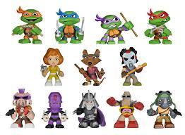 2014 funko teenage mutant ninja turtles mystery minis