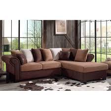 canapé exotique canapé d angle 3 places et 1 pouf exotique djerba maison et styles