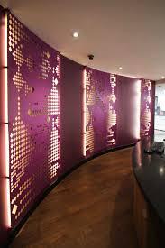 laser cut backlit screens thai airways mayfair london design