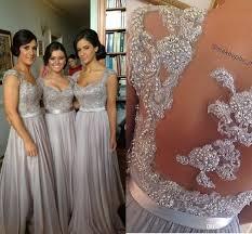 silver bridesmaid dresses best 25 silver grey bridesmaid dresses ideas on
