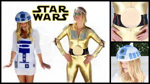 diy r2 d2 u0026 c 3po star wars halloween costumes style by dani