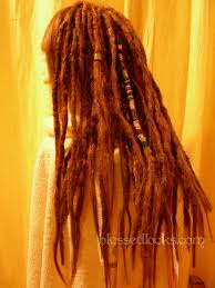 Hair Extensions Using Beads by Blessed Locks Custom Dreadlock Extensions And Falls From