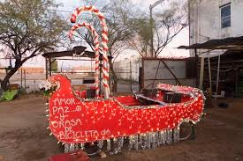 Tucson Parade Of Lights Escort Santa And His Bike Powered Sleigh In Parade Of Lights